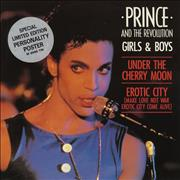 Click here for more info about 'Prince - Girls & Boys - Stickered Sleeve + Poster'