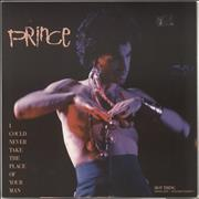 "Prince I Could Never Take The Place Of Your Man UK 12"" vinyl"