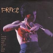 """Prince I Could Never Take The Place Of Your Man - Matt Sleeve UK 7"""" vinyl"""