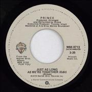 Click here for more info about 'Prince - Just As Long As We're Together'