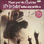 Click here for more info about 'Prince - Let's Go Crazy + Picture Sleeve'