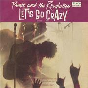 Click here for more info about 'Prince - Let's Go Crazy - EX'