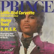 Click here for more info about 'Prince - Little Red Corvette + Calendar Poster'