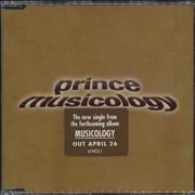 Click here for more info about 'Prince - Musicology'