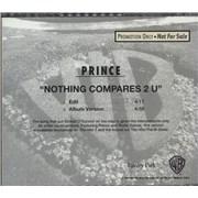 Prince Nothing Compares 2 U USA CD single Promo