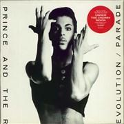 Prince Parade - Stickered Sleeve UK vinyl LP