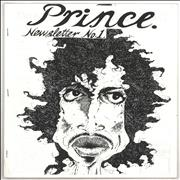 Click here for more info about 'Prince - Prince Newsletter - No1'