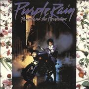 Click here for more info about 'Prince - Purple Rain + Poster - EX'