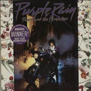 Click here for more info about 'Prince - Purple Rain - 'Awards' Stickered Sleeve'