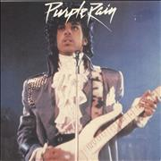 Click here for more info about 'Prince - Purple Rain - Injection label'