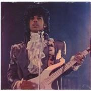 """Prince Purple Rain - Purple vinyl + PVC sleeve USA 7"""" vinyl"""