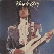 "Prince Purple Rain - 'Rain' Labels UK 7"" vinyl"