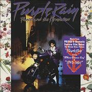 Prince Purple Rain - Stickered Sleeve Germany vinyl LP