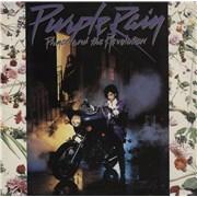 Prince Purple Rain UK vinyl LP