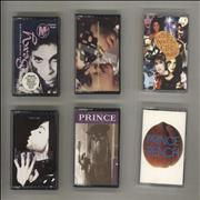 Click here for more info about 'Prince - Quantity of Six Cassette Singles'