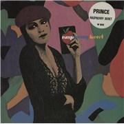"Prince Raspberry Beret - Stickered Sleeve UK 7"" vinyl"