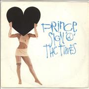 Click here for more info about 'Prince - Sign 'O' The Times - Paper Label'