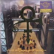 Prince Symbol - Uncensored UK CD album