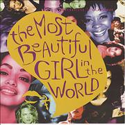 """Prince The Most Beautiful Girl In The World UK 12"""" vinyl"""