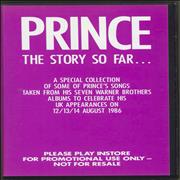 Click here for more info about 'Prince - The Story So Far...'