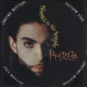 Click here for more info about 'Prince - Thieves In The Temple + Insert'