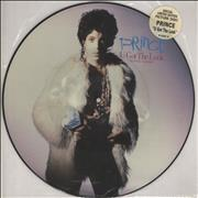 Click here for more info about 'Prince - U Got The Look - stickered pvc'