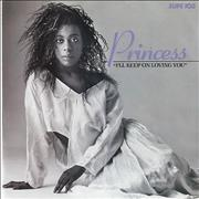 Click here for more info about 'Princess - I'll Keep On Loving You - poster sleeve'