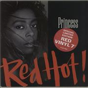 Click here for more info about 'Princess - Red Hot! - Red Vinyl'