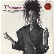 Click here for more info about 'Princess - Tell Me Tomorrow - Pink Vinyl'