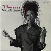 Click here for more info about 'Princess - Tell Me Tomorrow - White Vinyl'