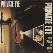 Click here for more info about 'Private Eye (Rock) - Your Place Or Mine - A Label'