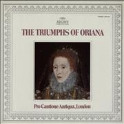 Click here for more info about 'Pro Cantione Antiqua, London - The Triumphs Of Oriana'