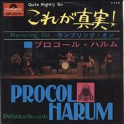 Click here for more info about 'Procol Harum - Quite Rightly So'