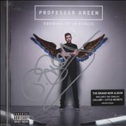 Click here for more info about 'Professor Green - Growing Up In Public - Autographed'