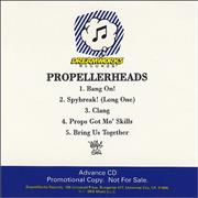 Click here for more info about 'Propellerheads - Bang On'