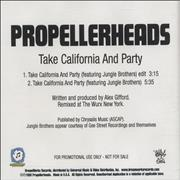 Click here for more info about 'Propellerheads - Take California And Party'