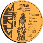 Click here for more info about 'Psalms - Always Trying (Better Days Will Come)'