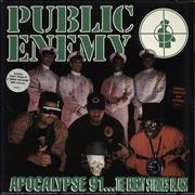 Click here for more info about 'Public Enemy - Apocalypse 91... The Enemy Strike Black - stickered p/s'