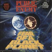 Click here for more info about 'Public Enemy - Fear Of A Black Planet - EX'