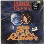 Click here for more info about 'Public Enemy - Fear Of A Black Planet - stickered shrink'