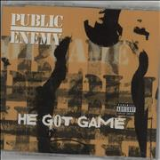 Click here for more info about 'Public Enemy - He Got Game'