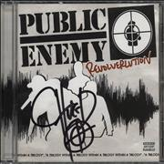 Click here for more info about 'Public Enemy - Revolverlution - Autographed by Chuck D'