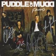 Click here for more info about 'Puddle Of Mudd - Famous - Fully Autographed'