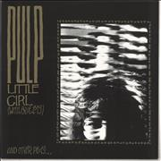 Click here for more info about 'Pulp - Little Girl (With Blue Eyes) - RSD15 - Black & Gold Vinyl'
