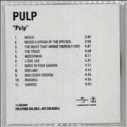 Click here for more info about 'Pulp - Pulp ('We Love Life')'