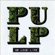 Click here for more info about 'Pulp - We Love Life'