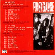 Click here for more info about 'Pussy Galore - Sampler'
