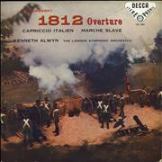Pyotr Ilyich Tchaikovsky 1812 Overture - 1st UK vinyl LP