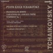 Click here for more info about 'Pyotr Ilyich Tchaikovsky - Francesca Da Rimini / Variations On A Rococo Theme...'