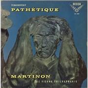 Pyotr Ilyich Tchaikovsky Pathétique UK vinyl LP
